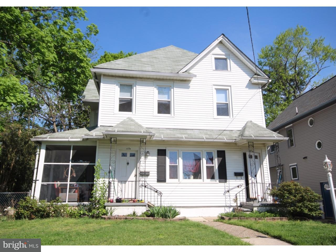 Duplex for Sale at 117 READING Avenue Barrington, New Jersey 08007 United States