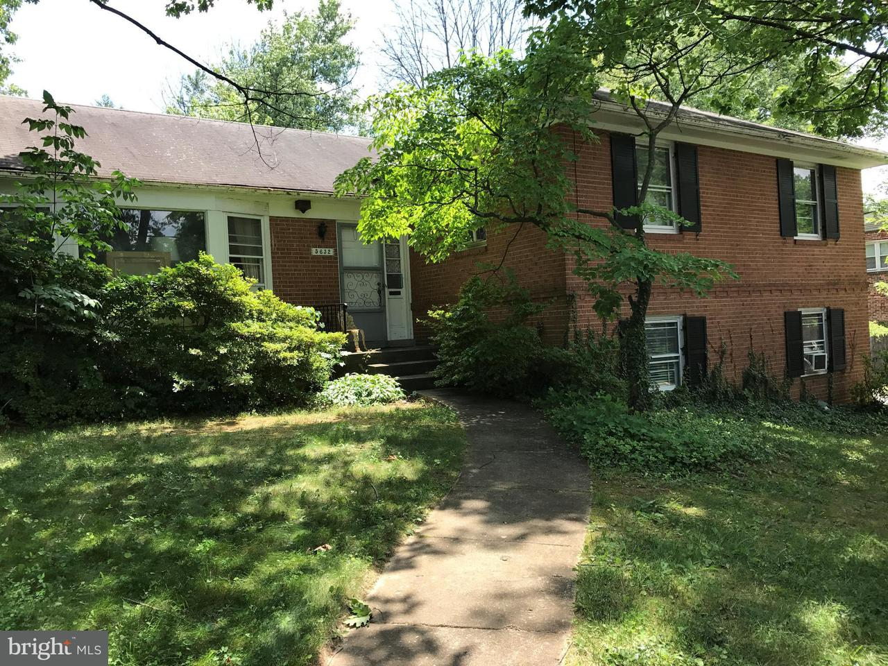 Photo of home for sale at 5632 Bradley Boulevard, Bethesda MD