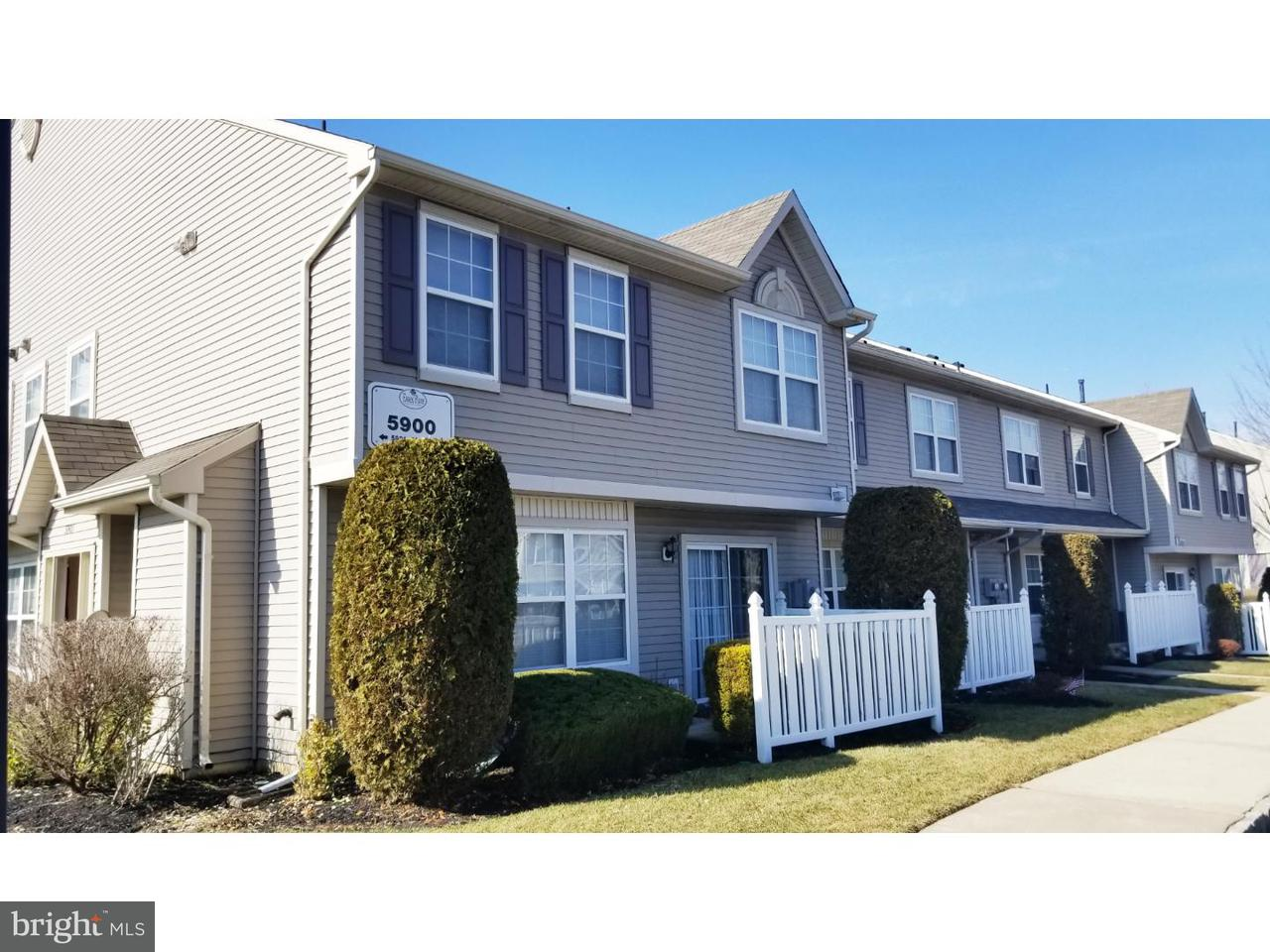 Townhouse for Sale at 5902 COVENTRY WAY Mount Laurel, New Jersey 08054 United States