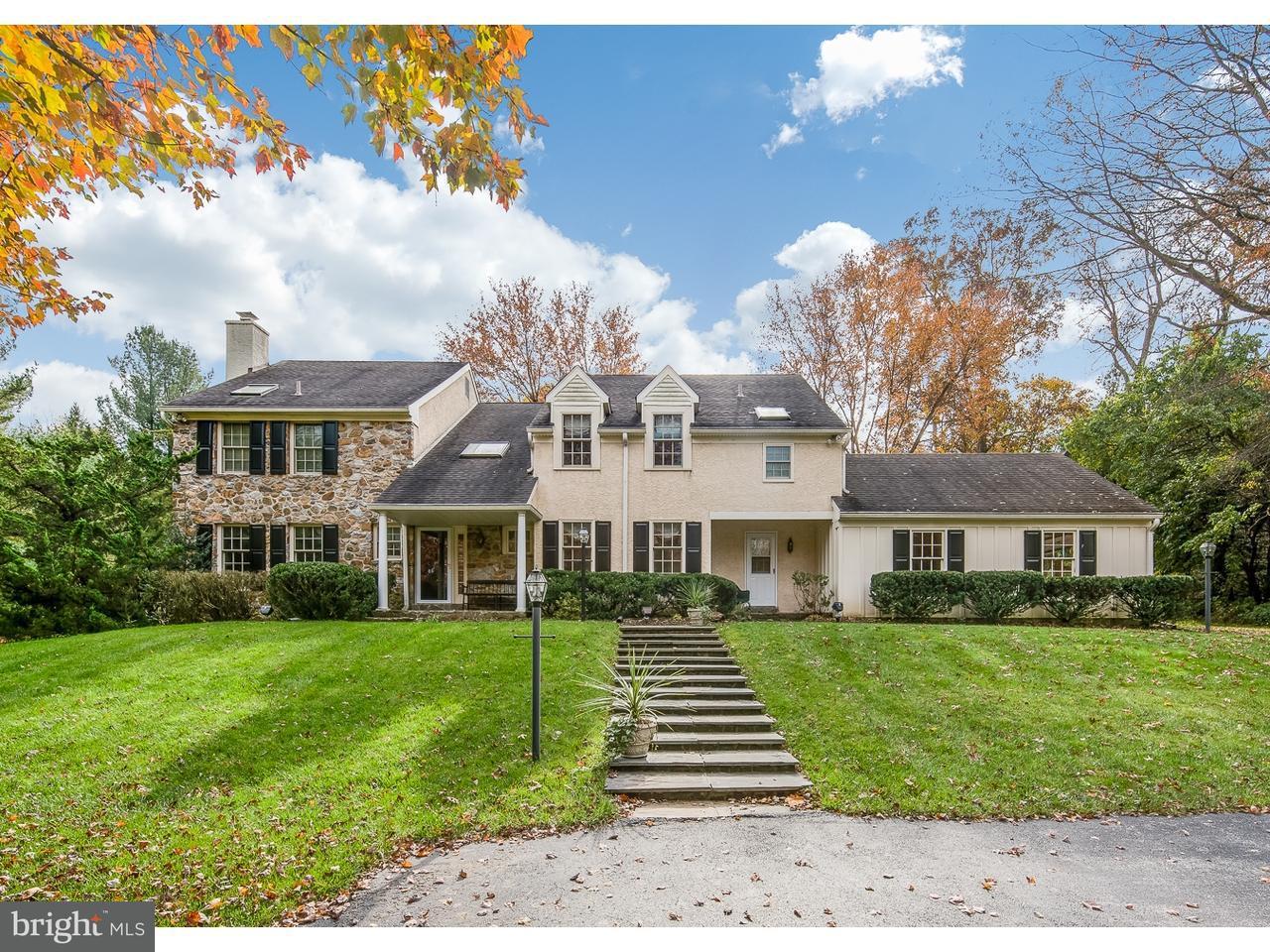 Maison unifamiliale pour l Vente à 1114 S LEOPARD Road Berwyn, Pennsylvanie 19312 États-Unis