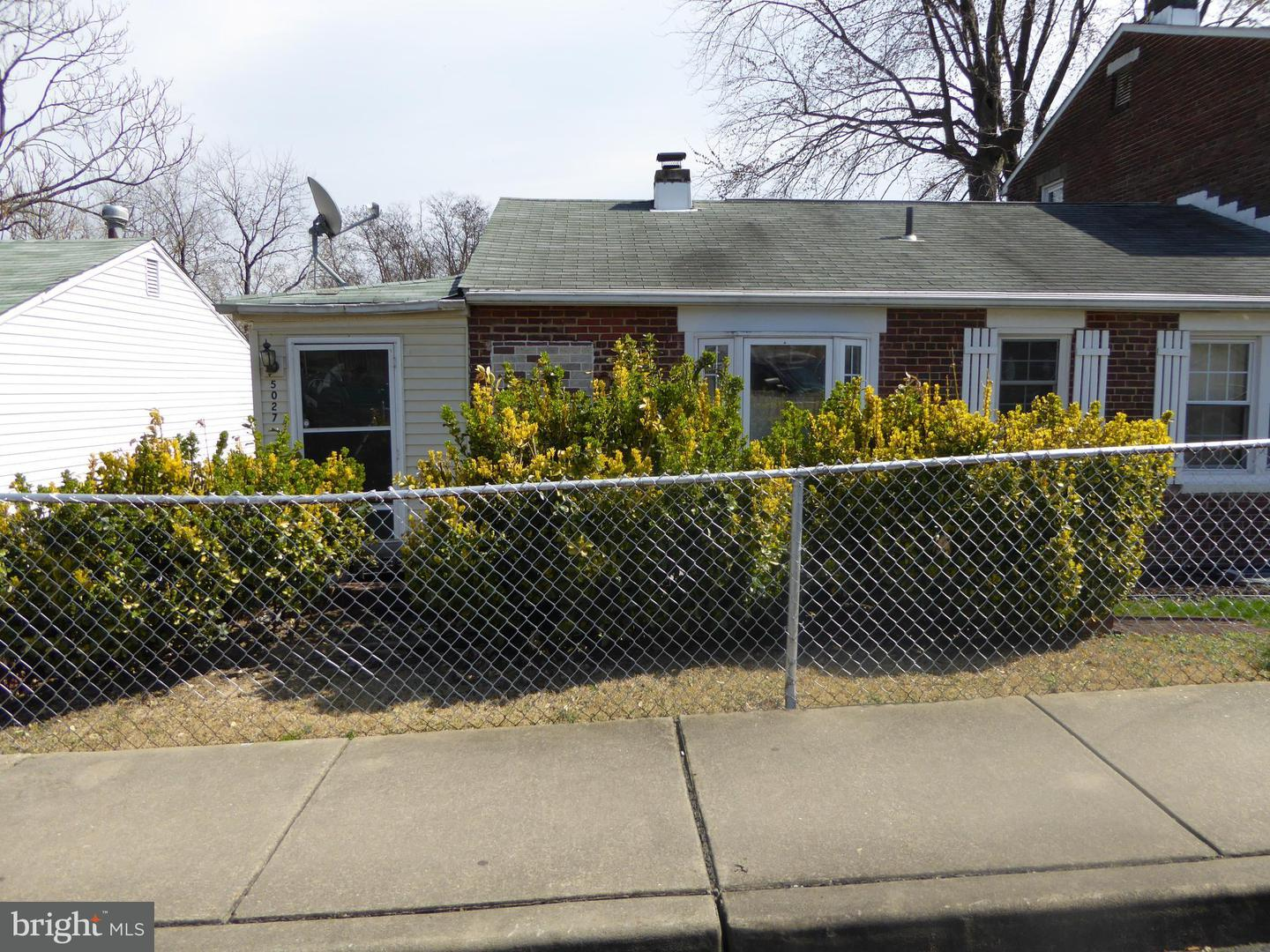 Single Family for Sale at 5027 Orville Ave Baltimore, Maryland 21205 United States