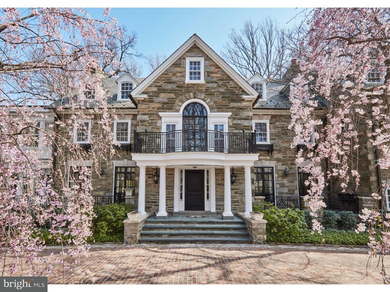 Maison unifamiliale pour l Vente à 489 UPPER GULPH Road Radnor, Pennsylvanie 19087 États-Unis