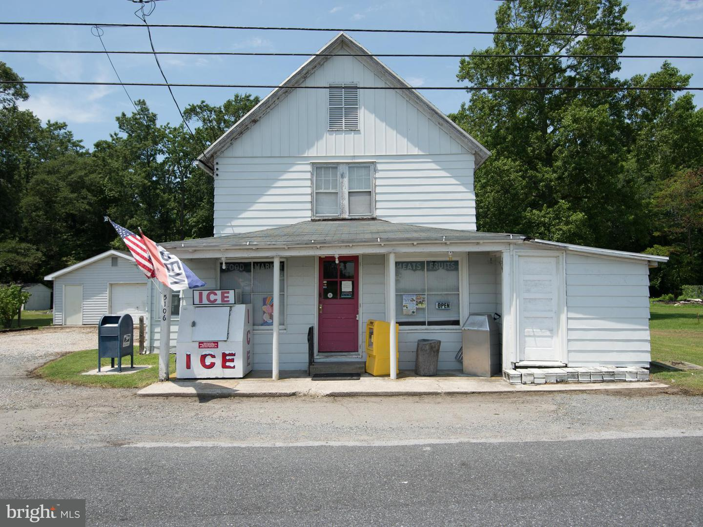Single Family for Sale at 5106 Rhodesdale-Vienna Rd Rhodesdale, Maryland 21659 United States