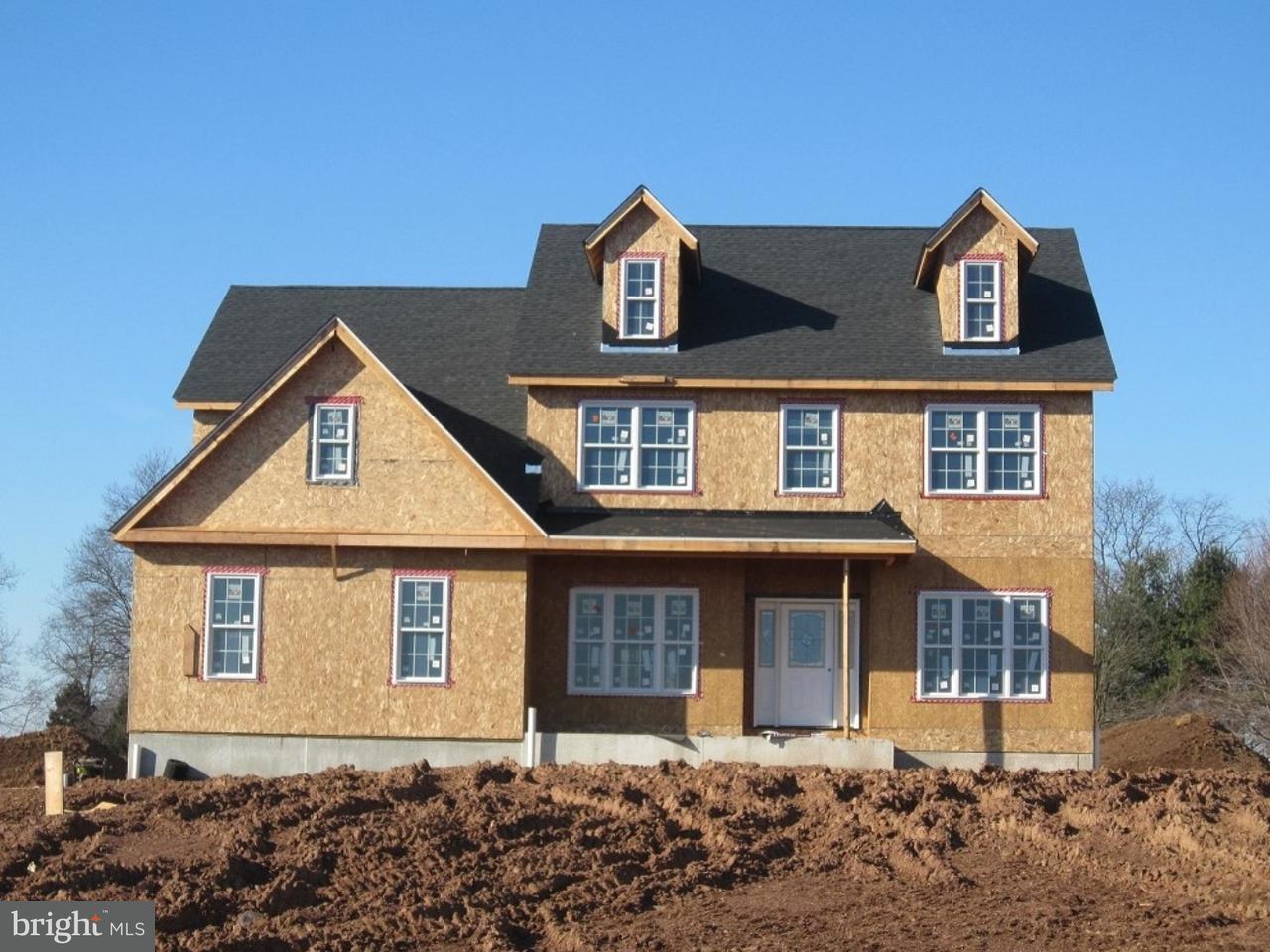 Maison unifamiliale pour l Vente à 21 BOSS Road Ringoes, New Jersey 08551 États-UnisDans/Autour: East Amwell Township