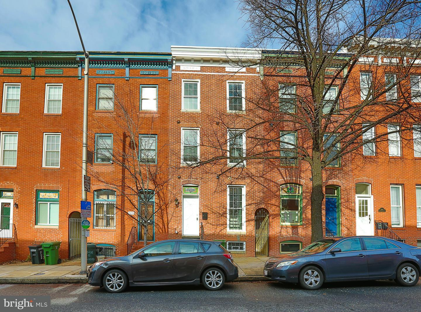Single Family for Sale at 2010 Lombard St E Baltimore, Maryland 21231 United States