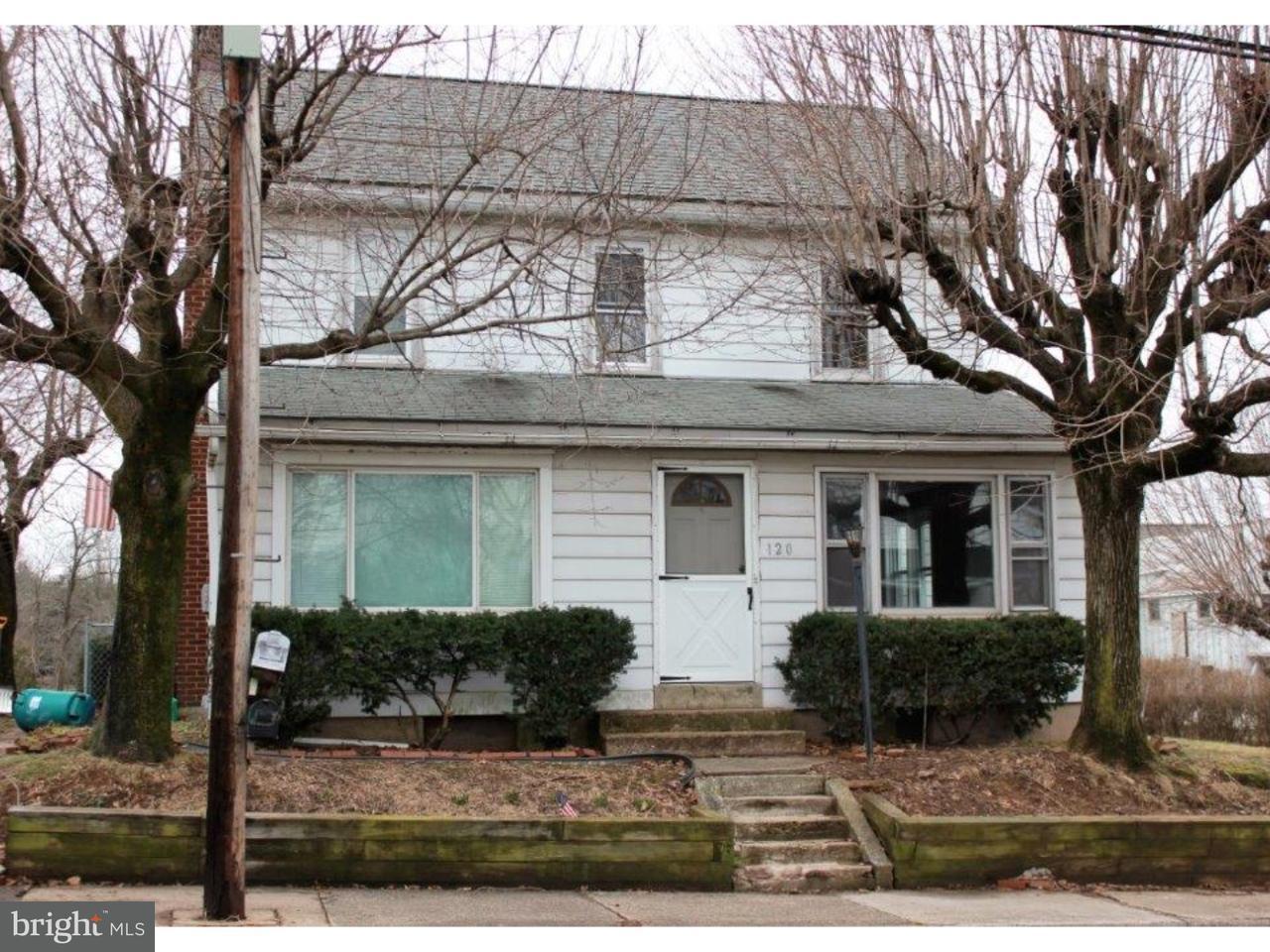 Dúplex por un Venta en 120 GREEN Street Silverdale, Pennsylvania 18962 Estados Unidos