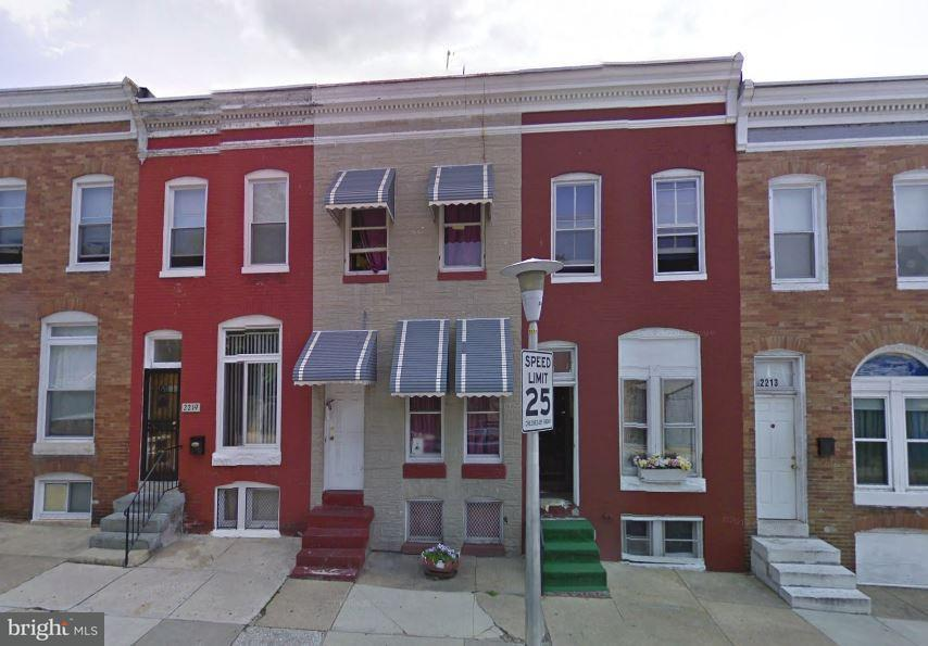 Single Family for Sale at 2217 Orem Ave Baltimore, Maryland 21217 United States