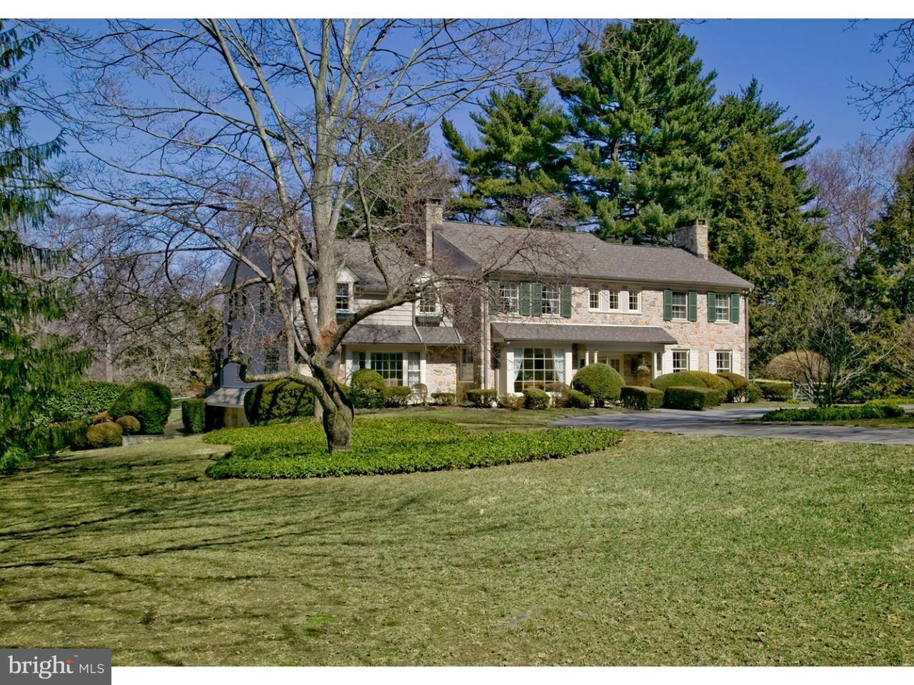 Частный односемейный дом для того Продажа на 400 GARDEN Lane Bryn Mawr, Пенсильвания 19010 Соединенные Штаты