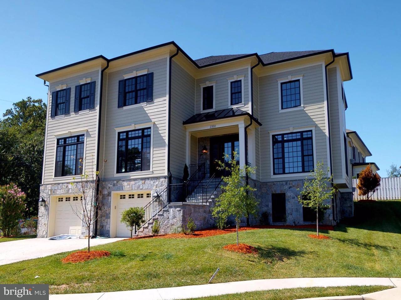 Single Family Home for Sale at 2350 Daniel Street 2350 Daniel Street Arlington, Virginia 22207 United States