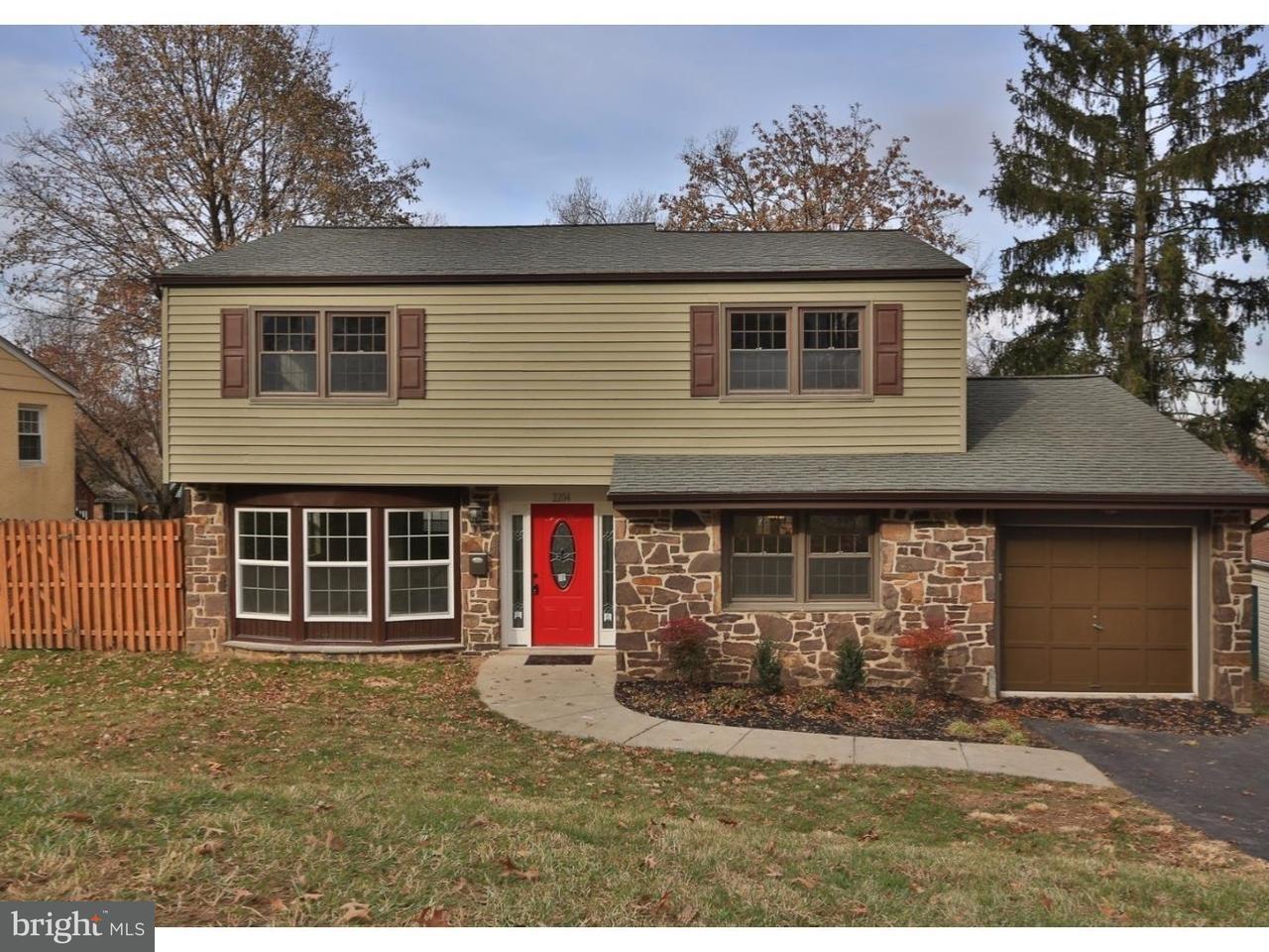 Einfamilienhaus für Verkauf beim 2204 OAKWYN Road Lafayette Hill, Pennsylvanien 19444 Vereinigte Staaten