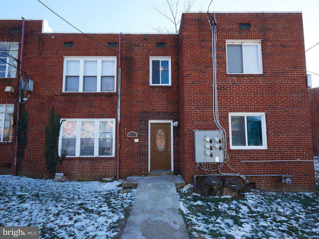 Multi-Family Home for Sale at 1471 Bangor St Se 1471 Bangor St Se Washington, District Of Columbia 20020 United States
