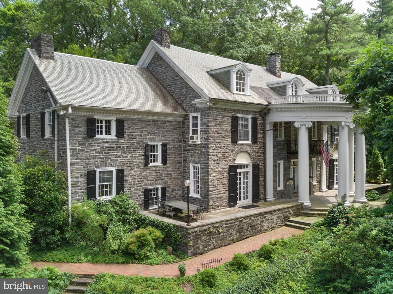 Частный односемейный дом для того Продажа на 300 GLENN Road Ardmore, Пенсильвания 19003 Соединенные Штаты