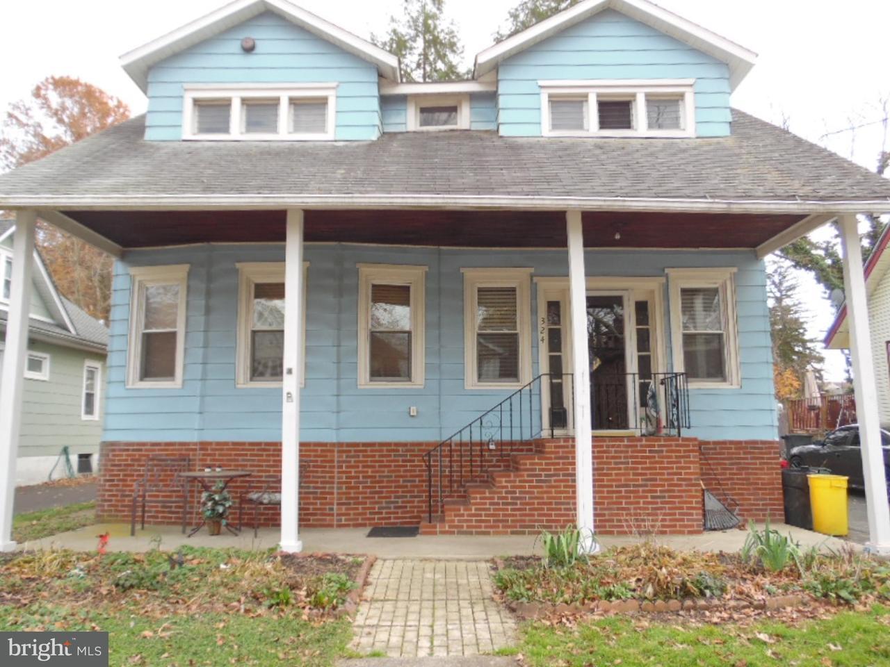 Частный односемейный дом для того Продажа на 324 W GRAISBURY Avenue Audubon, Нью-Джерси 08106 Соединенные Штаты