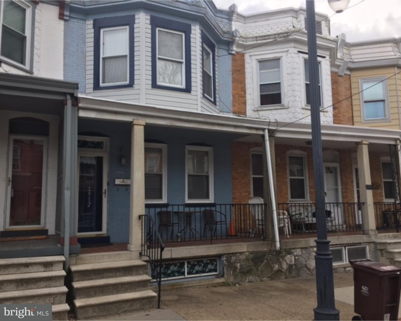 Частный односемейный дом для того Аренда на 1912 W 7TH Street Wilmington, Делавэр 19805 Соединенные Штаты