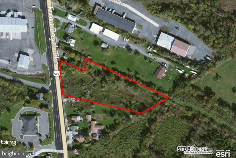 Terreno por un Venta en 473 Front Royal Pike 473 Front Royal Pike Winchester, Virginia 22602 Estados Unidos