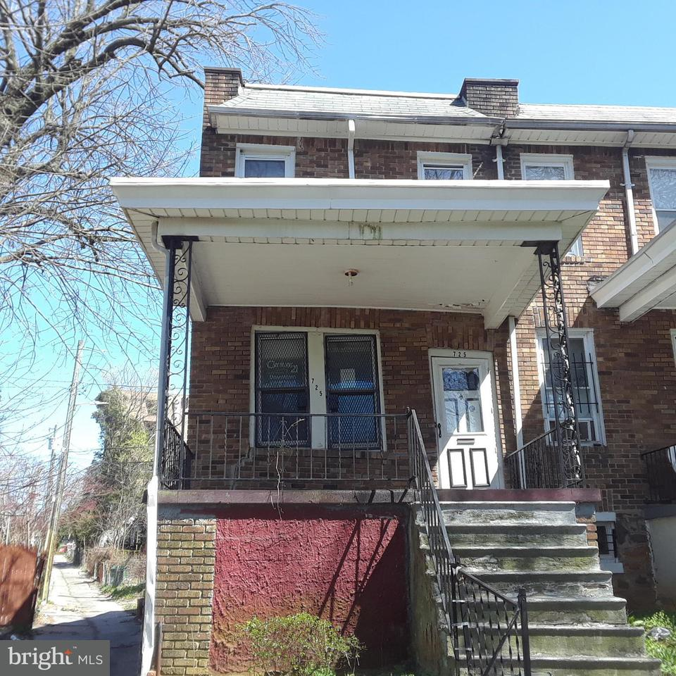 Single Family for Sale at 725 Rosedale St N Baltimore, Maryland 21216 United States