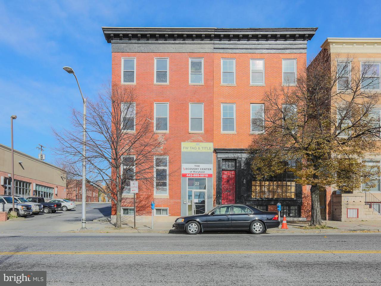 Commercial for Sale at 22 E 25th St Baltimore, Maryland 21218 United States