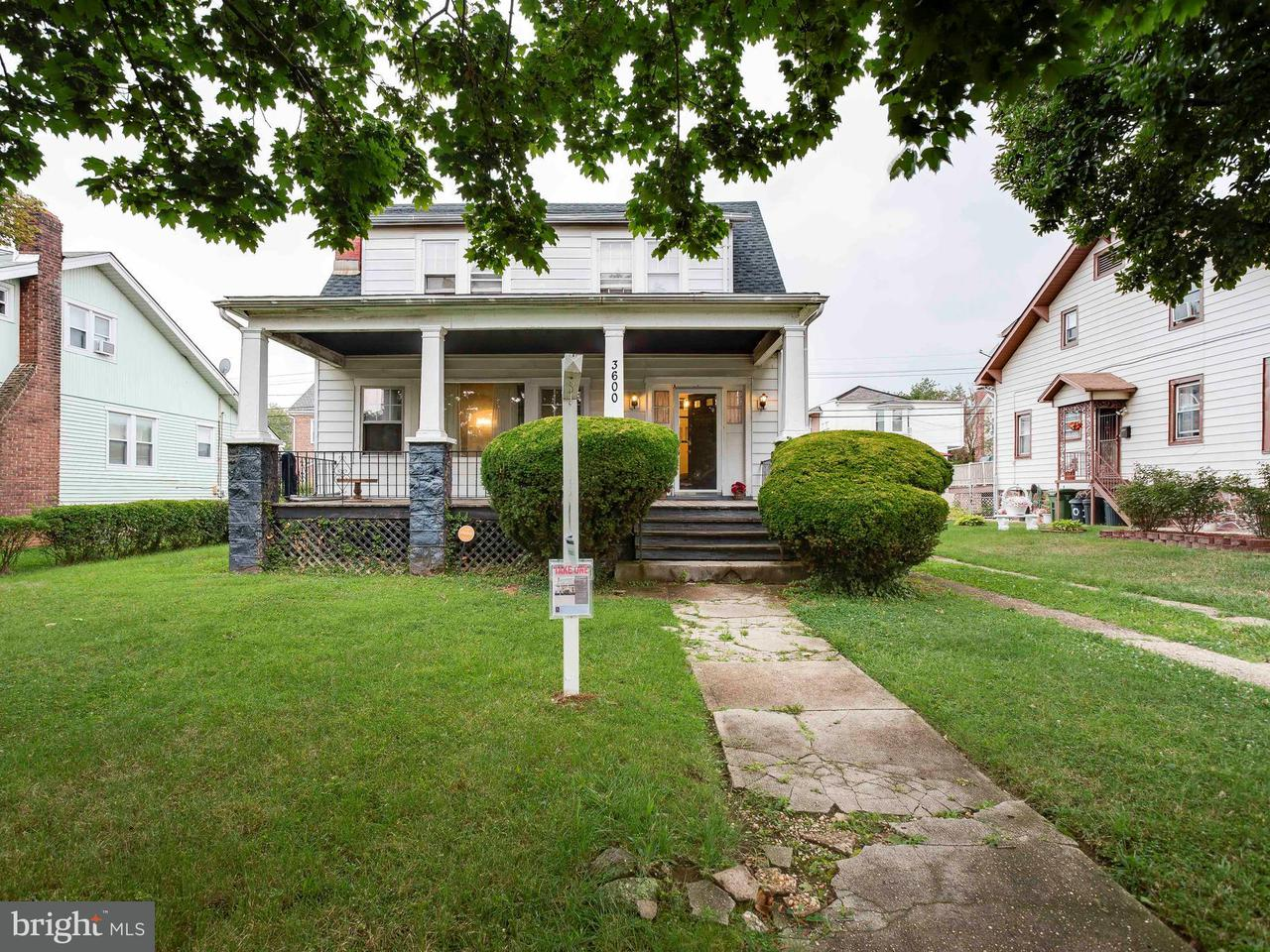 Single Family for Sale at 3600 Edgewood Rd Baltimore, Maryland 21215 United States