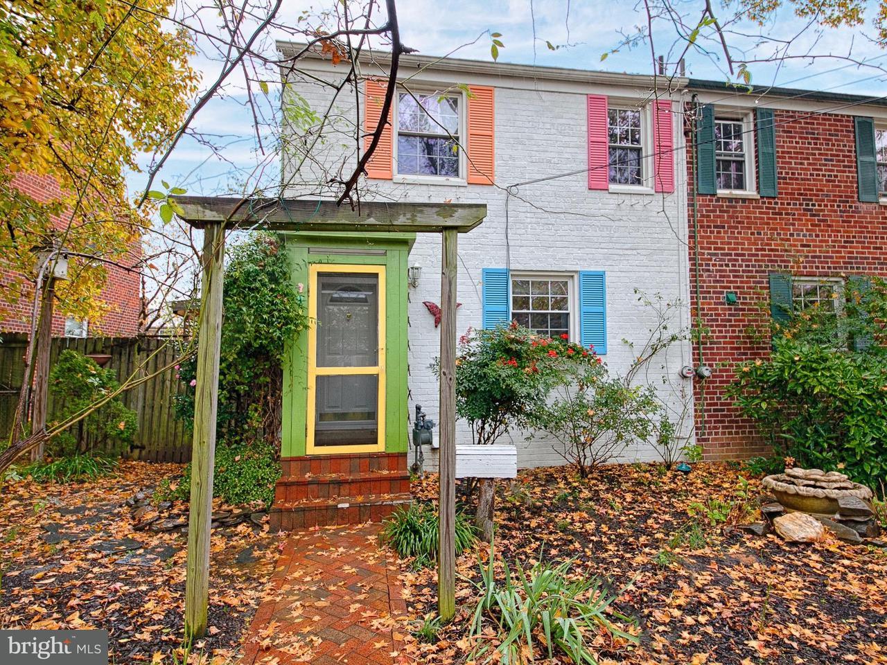 Doppelhaus für Verkauf beim 2813 Mosby Street 2813 Mosby Street Alexandria, Virginia 22305 Vereinigte Staaten