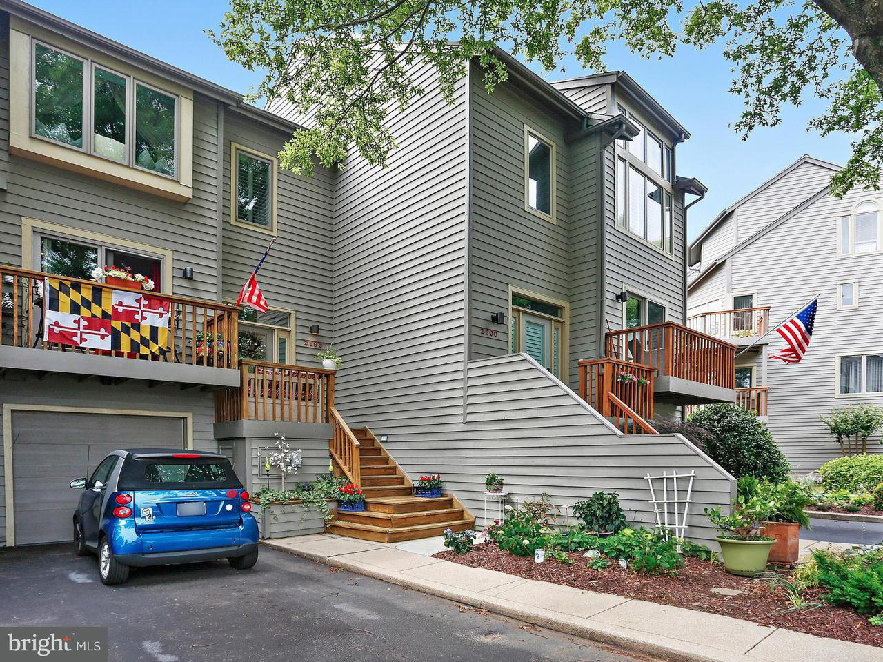 Townhouse for Sale at 2198 Chesapeake Harbour Dr E 2198 Chesapeake Harbour Dr E Annapolis, Maryland 21403 United States
