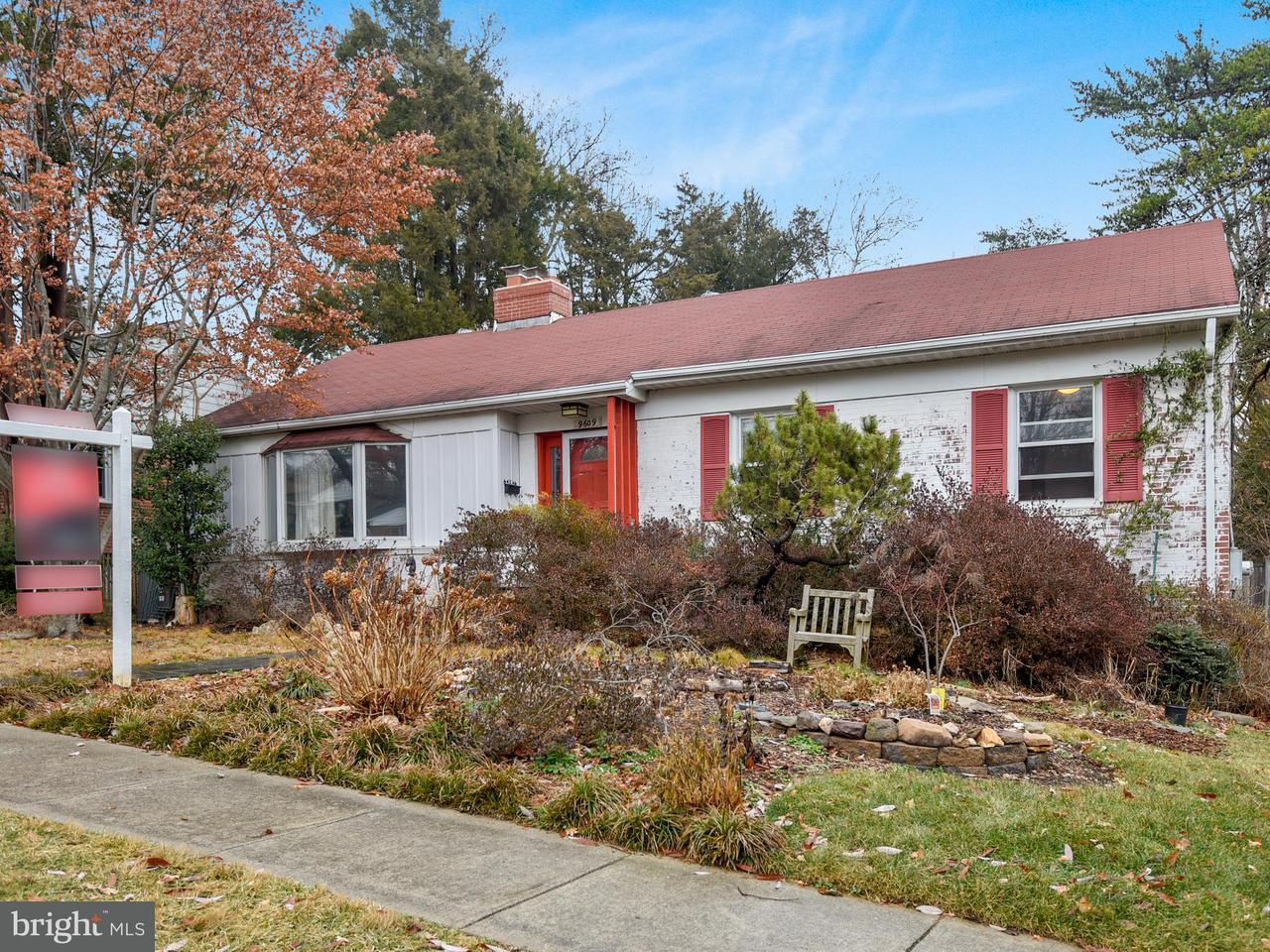Single Family Home for Sale at 9609 Wadsworth Drive 9609 Wadsworth Drive Bethesda, Maryland 20817 United States