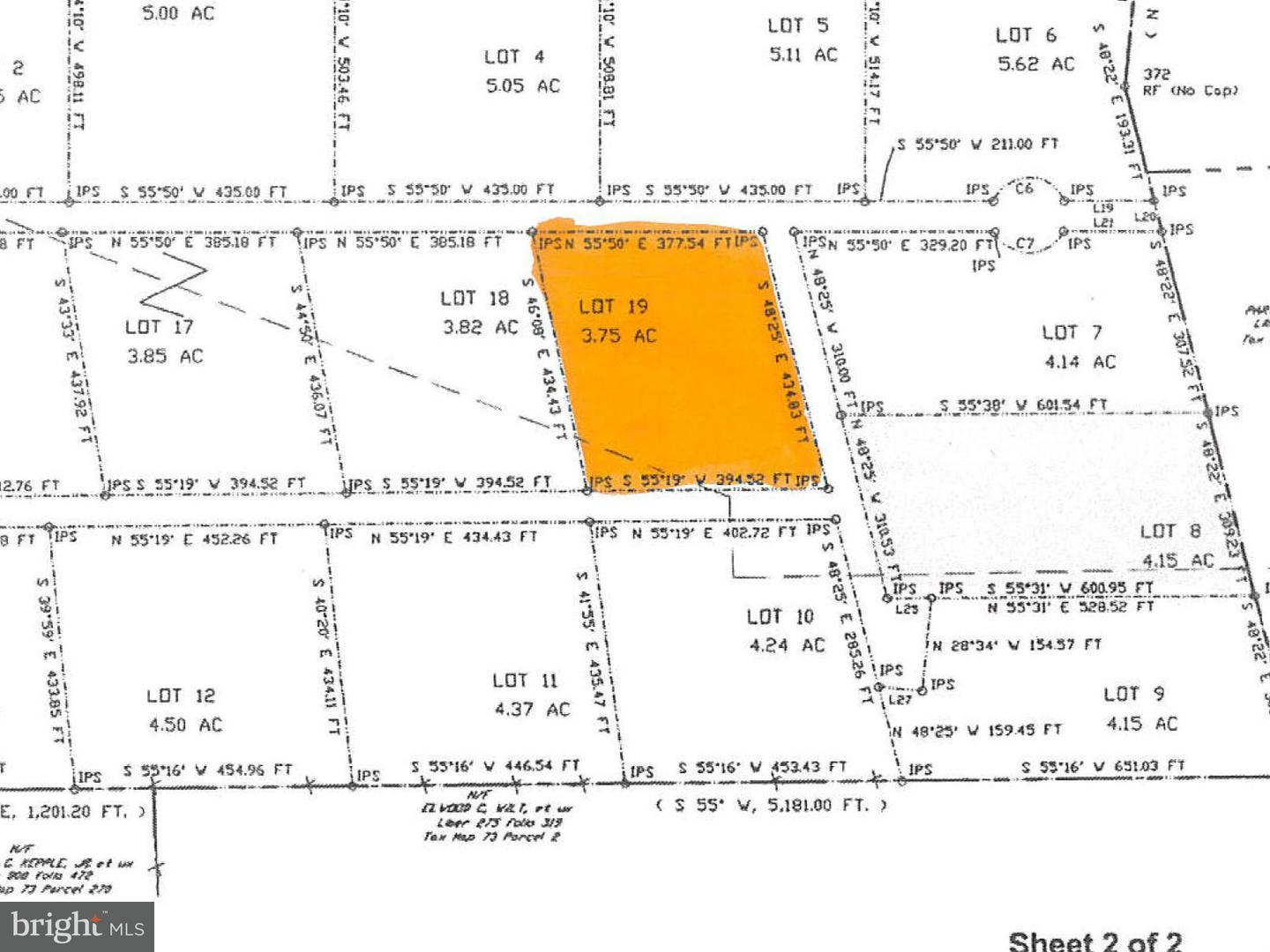 Additional photo for property listing at Lot # 19 Ridge Road Rd  Oakland, Maryland 21550 United States