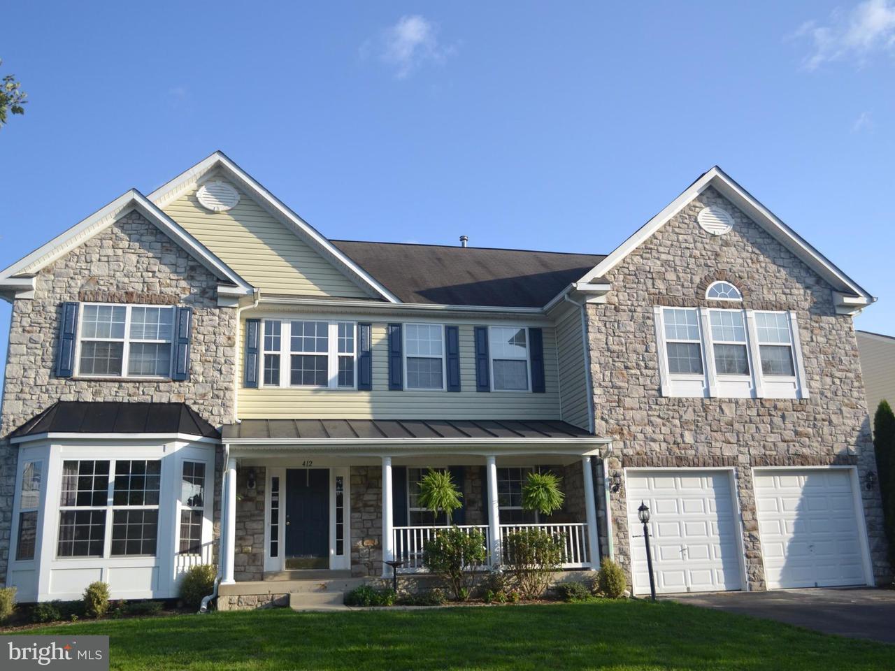 獨棟家庭住宅 為 出售 在 412 Autumn Chase Court 412 Autumn Chase Court Purcellville, 弗吉尼亞州 20132 美國