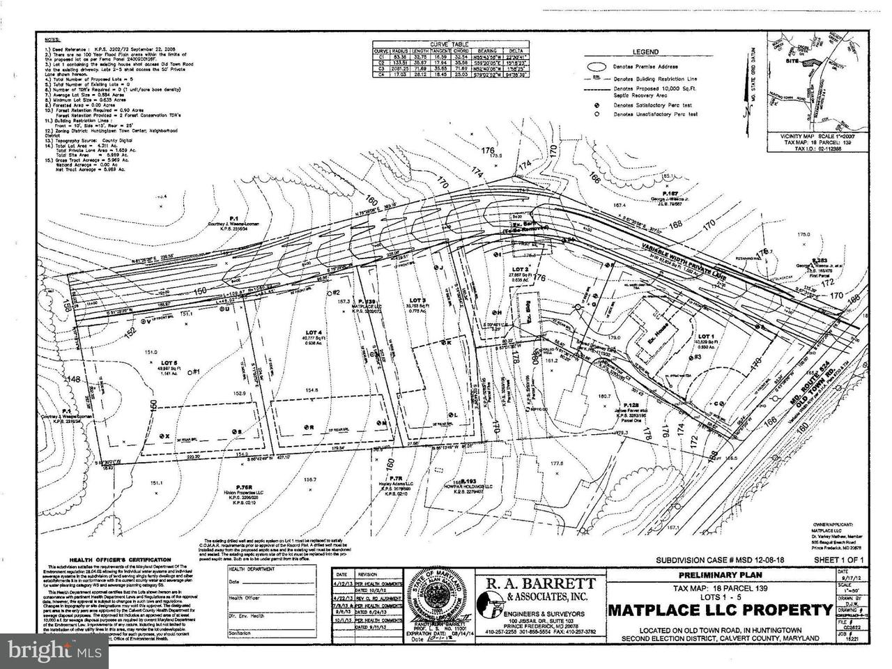 Commercial for Sale at 4250 Old Town Rd Huntingtown, Maryland 20639 United States