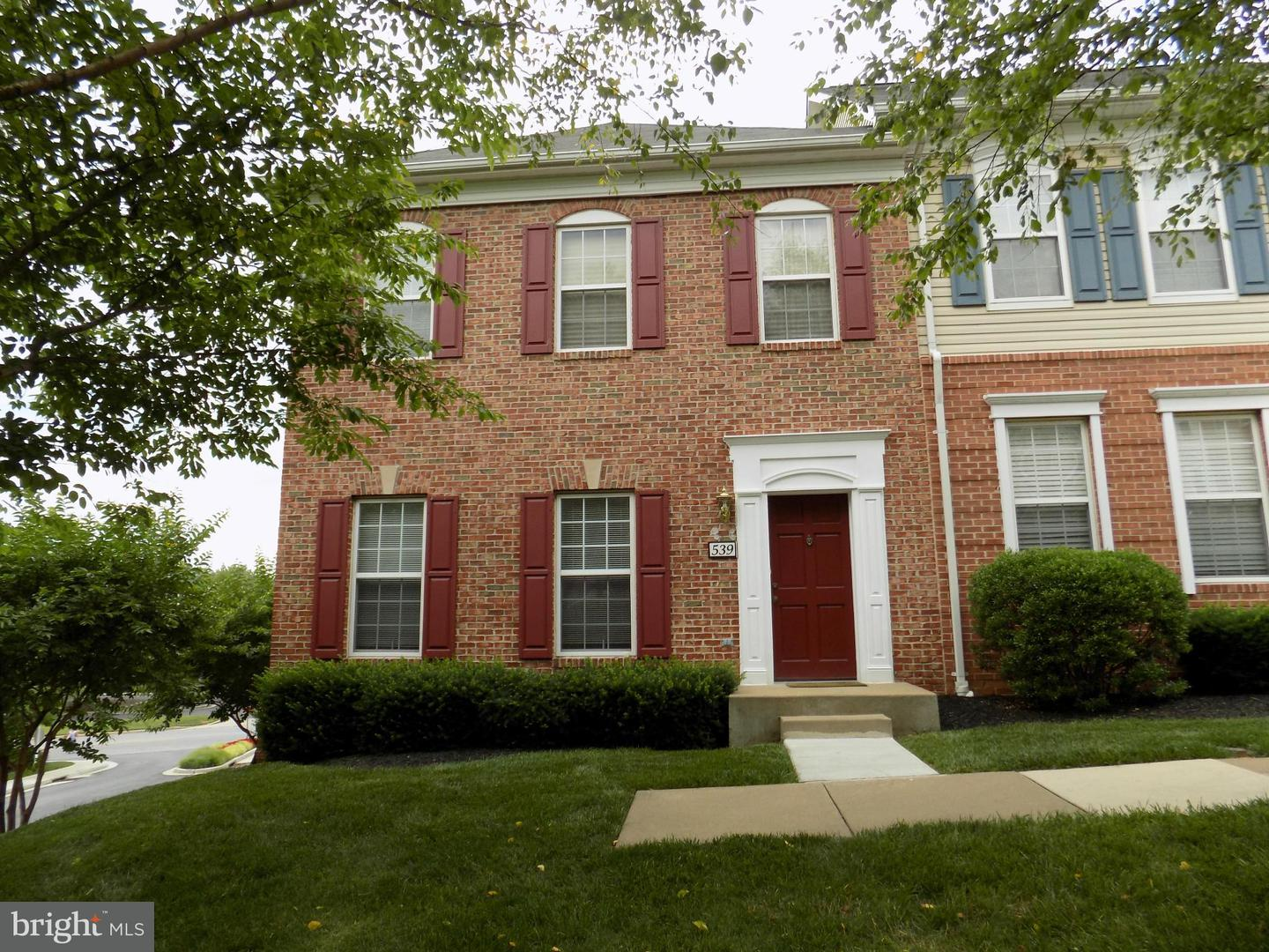 Other Residential for Rent at 539 Ensemble Ct Cockeysville, Maryland 21030 United States