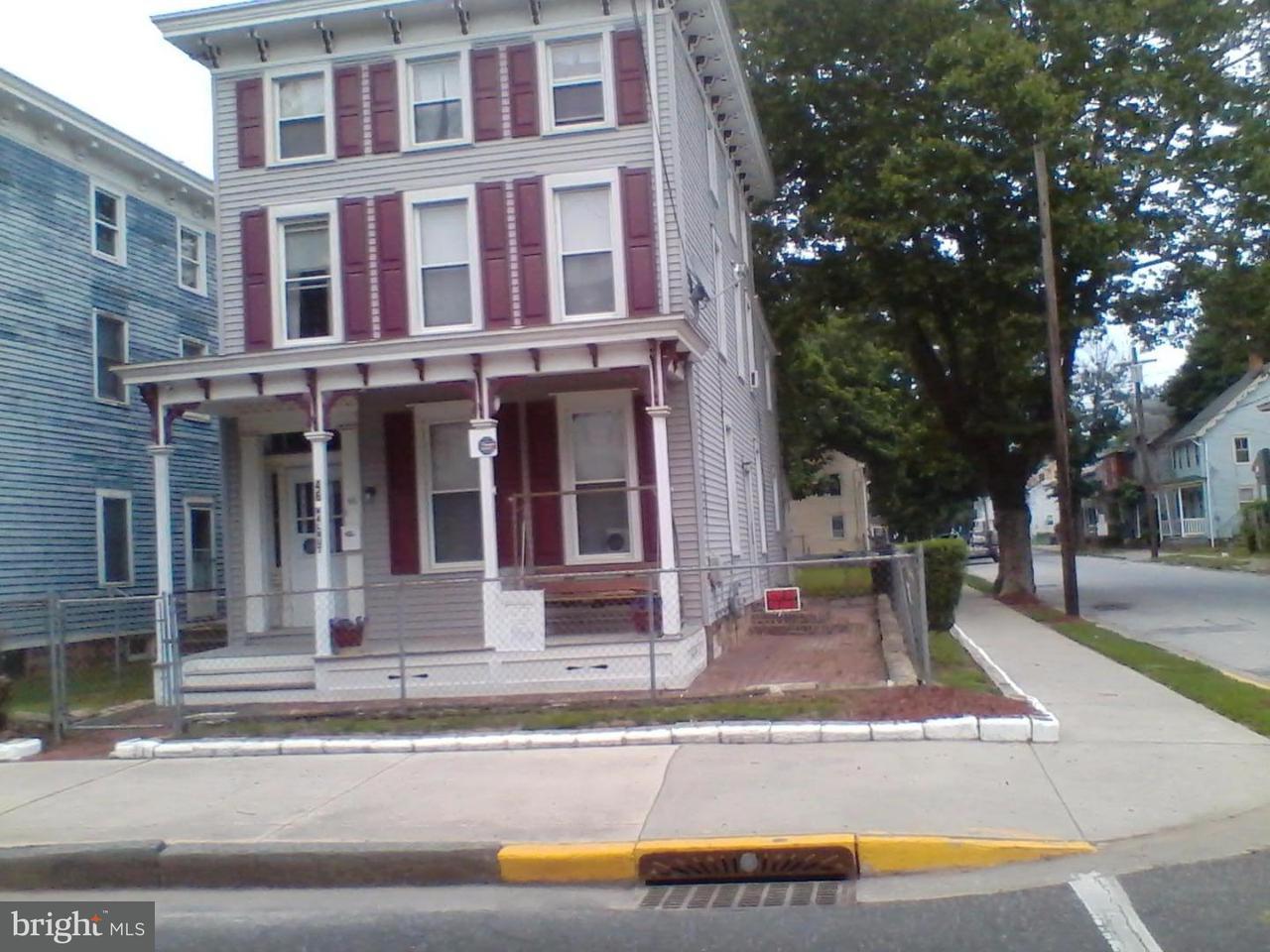 Частный односемейный дом для того Продажа на 46 WALNUT Street Salem, Нью-Джерси 08079 Соединенные Штаты