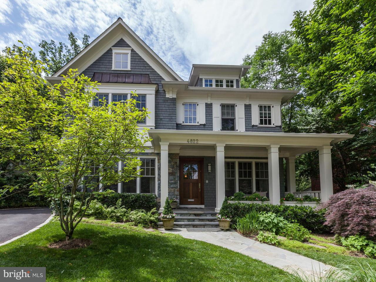 Single Family for Sale at 4822 Drummond Ave Chevy Chase, Maryland 20815 United States