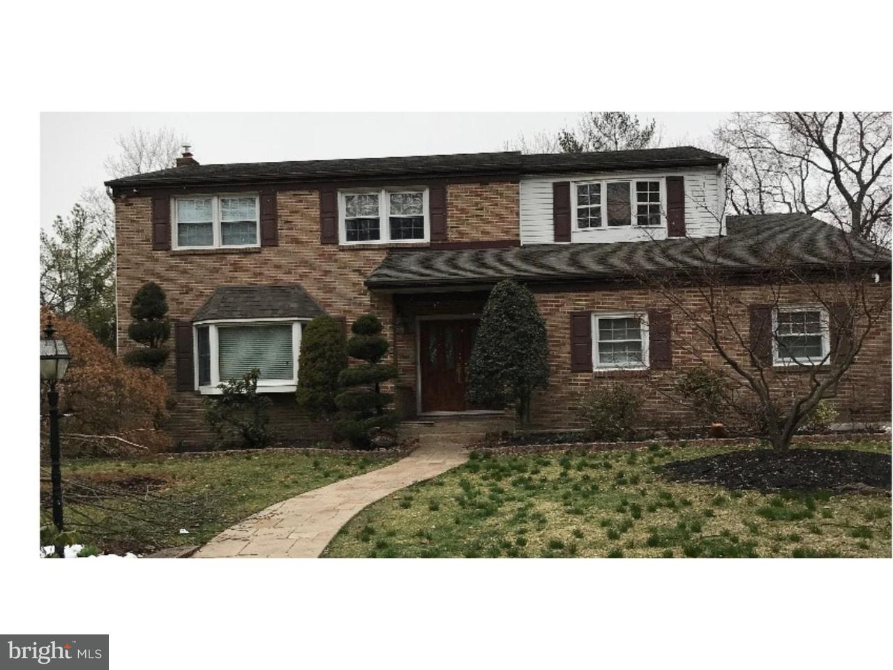 Частный односемейный дом для того Аренда на 503 BALSAM Road Cherry Hill, Нью-Джерси 08003 Соединенные Штаты