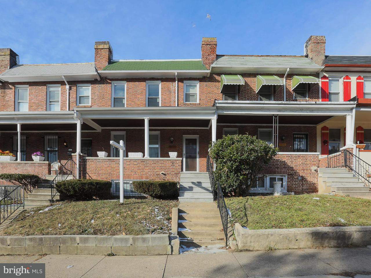 Single Family for Sale at 2030 Ruxton Ave Baltimore, Maryland 21216 United States