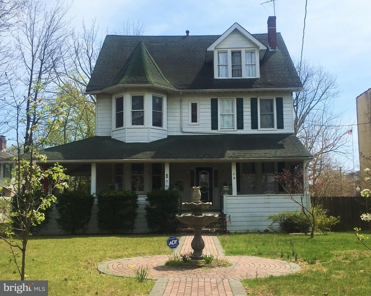Maison unifamiliale pour l Vente à 4 E MAPLE Avenue Merchantville, New Jersey 08109 États-Unis