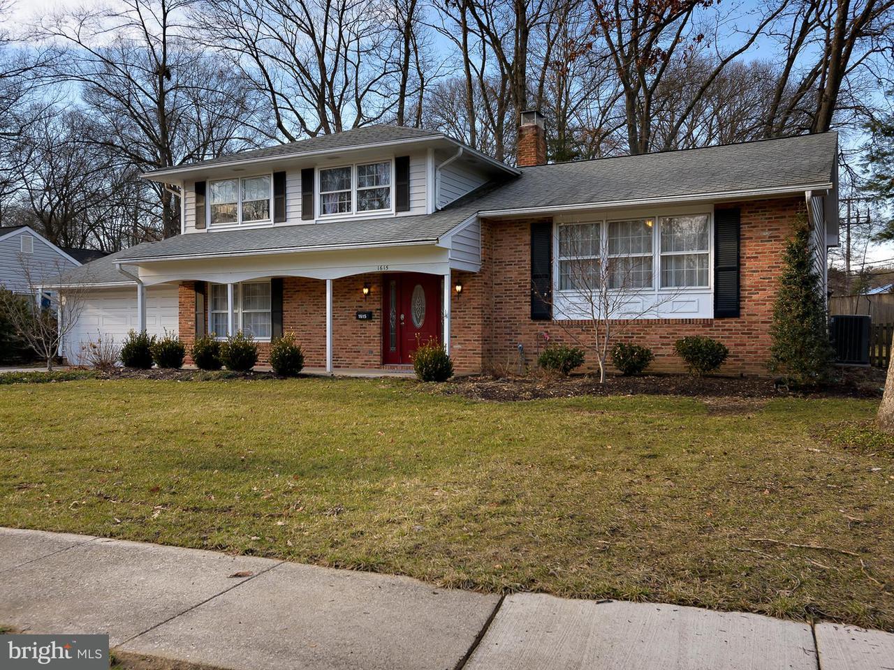 獨棟家庭住宅 為 出售 在 1615 Farnborn Street 1615 Farnborn Street Crofton, 馬里蘭州 21114 美國