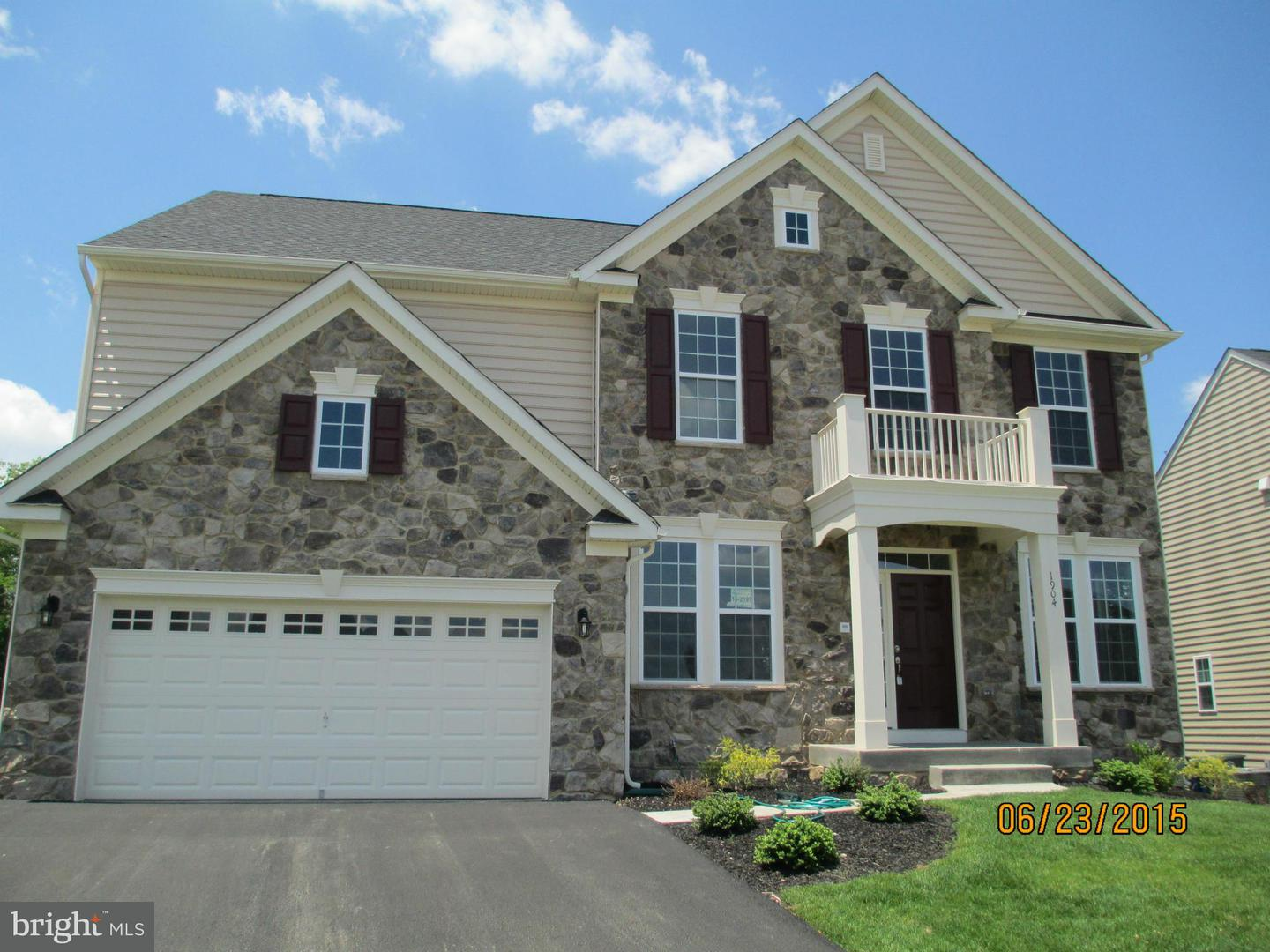 Photo of home for sale at 8393 Pine Bluff Road, Frederick MD