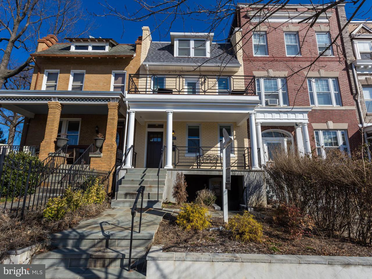 Single Family for Sale at 2427 1st St NW Washington, District Of Columbia 20001 United States