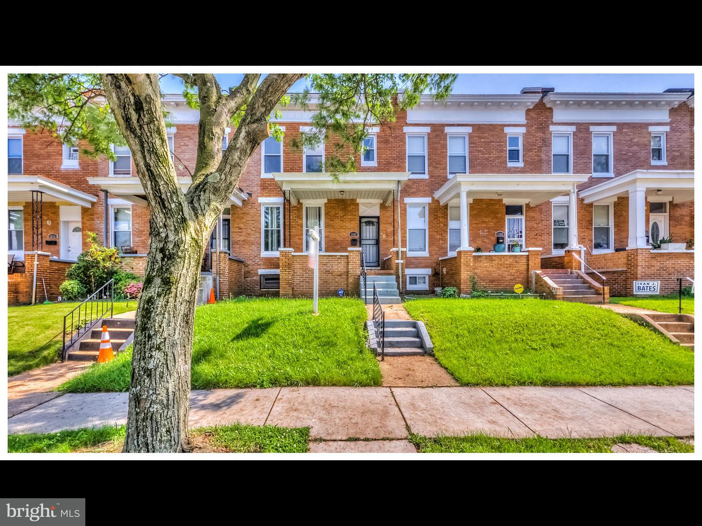 Single Family for Sale at 1607 32nd St E Baltimore, Maryland 21218 United States