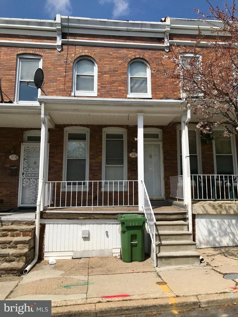 Single Family for Sale at 3110 Ellerslie Ave Baltimore, Maryland 21218 United States