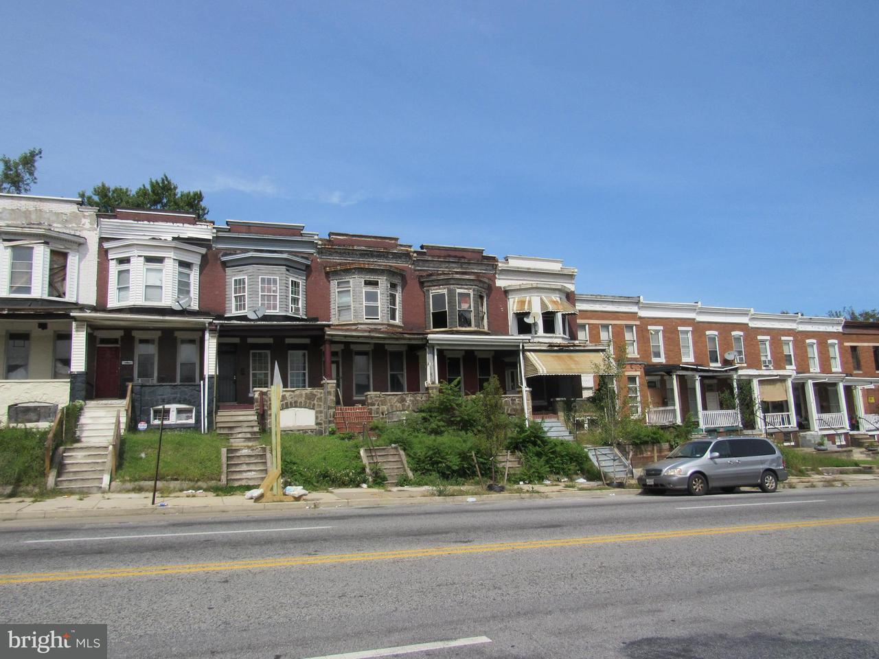 Single Family for Sale at 2942 North Ave Baltimore, Maryland 21216 United States