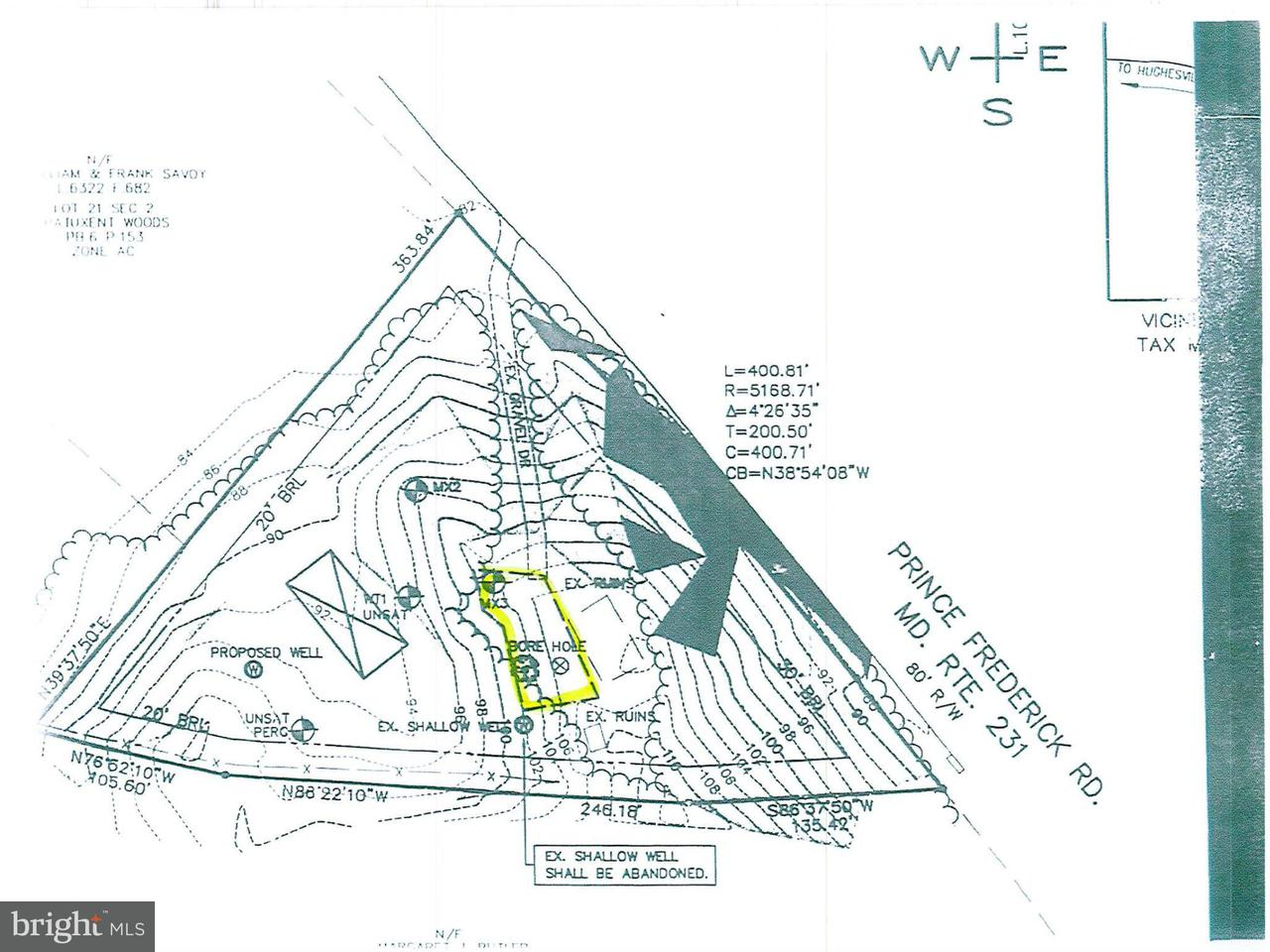 Land for Sale at 16517 Prince Frederick Rd Hughesville, Maryland 20637 United States