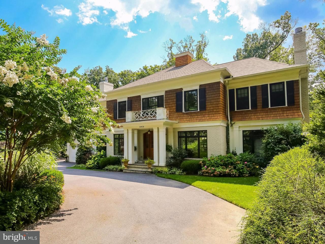 Single Family Home for Sale at 6926 Blaisdell Road 6926 Blaisdell Road Bethesda, Maryland 20817 United States