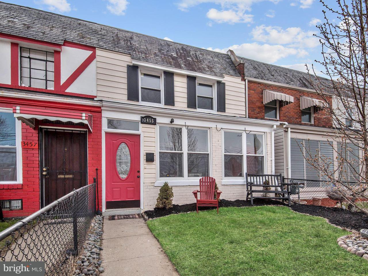 Single Family for Sale at 3455 Eads St NE Washington, District Of Columbia 20019 United States
