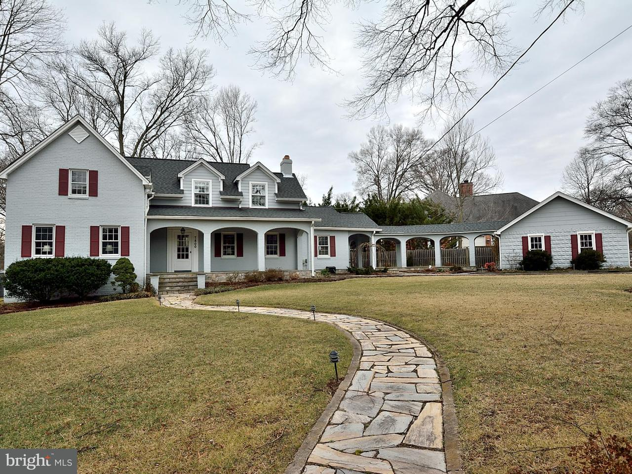 Single Family Home for Sale at 7800 Lee Avenue 7800 Lee Avenue Alexandria, Virginia 22308 United States