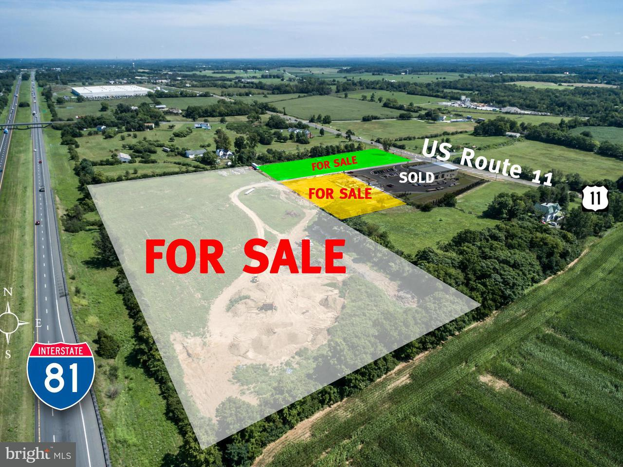 Comercial por un Venta en 3647 Martinsburg Pike 3647 Martinsburg Pike Clear Brook, Virginia 22624 Estados Unidos