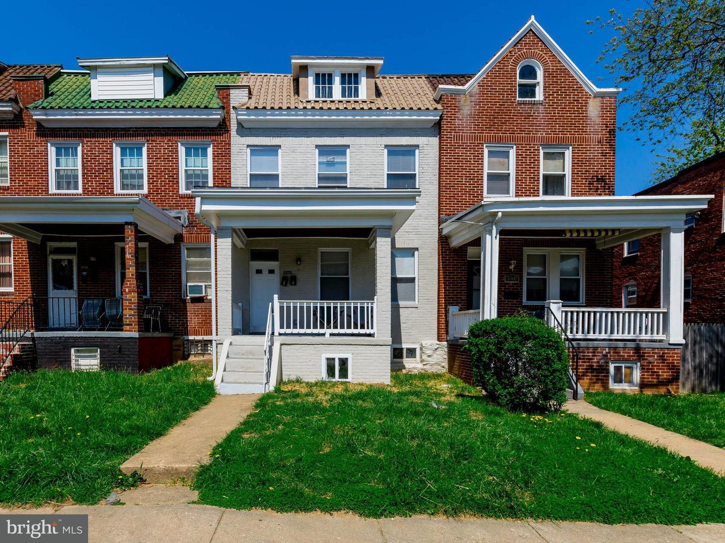 Single Family for Sale at 5507 Minnoka Ave Baltimore, Maryland 21215 United States