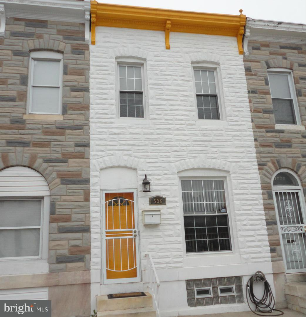 Single Family for Sale at 1536 Patterson Park Ave Baltimore, Maryland 21213 United States