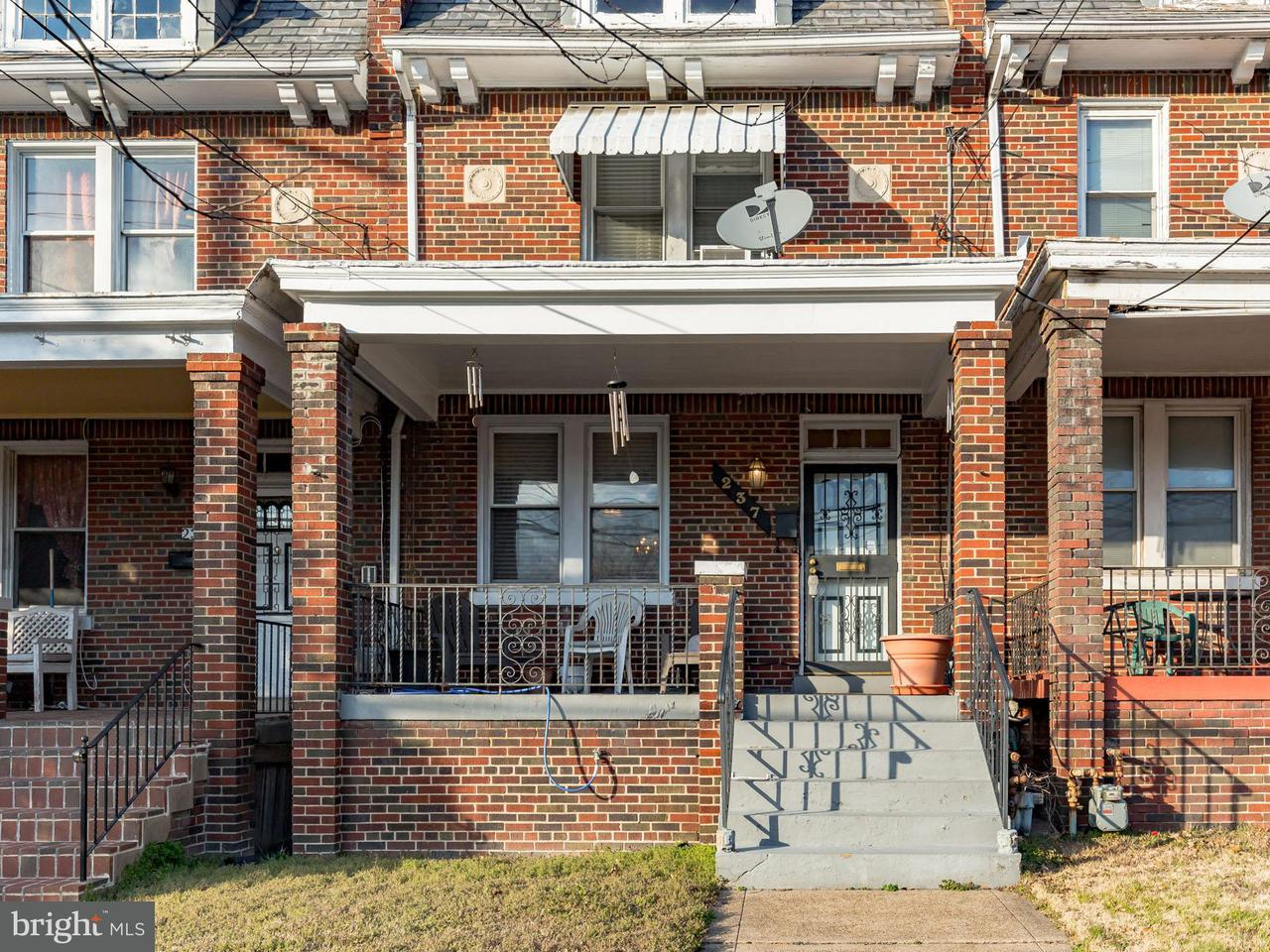 Single Family for Sale at 237 Missouri Ave NW Washington, District Of Columbia 20011 United States