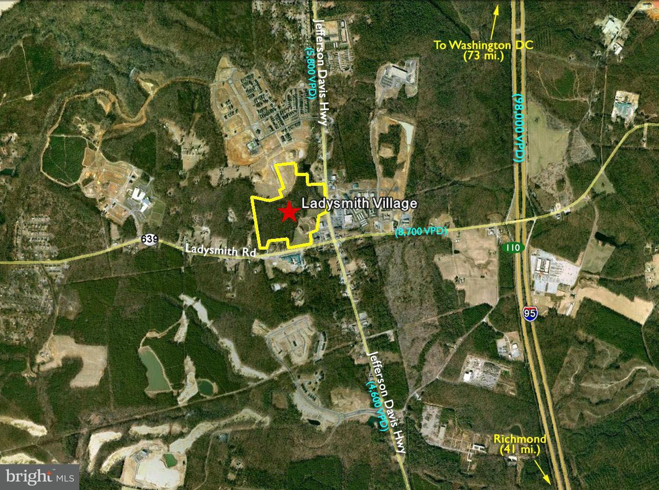 土地 為 出售 在 Jefferson Davis Jefferson Davis Ruther Glen, 弗吉尼亞州 22546 美國