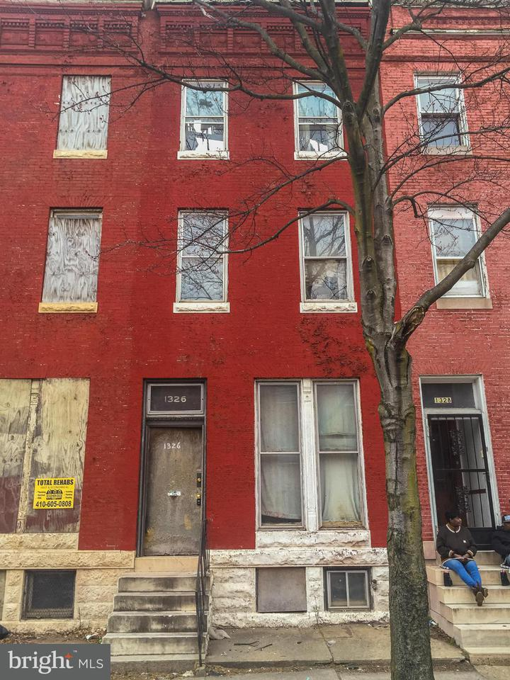 Photo of home for sale at 1326 Aisquith Street N, Baltimore MD